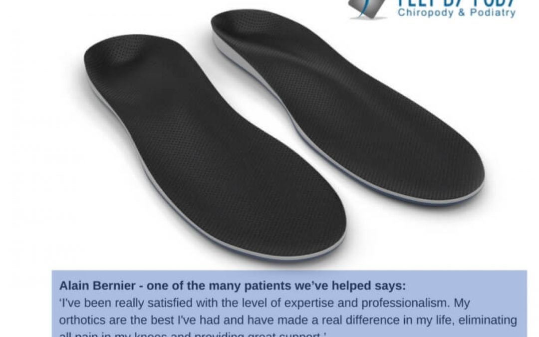 Custom-Made Orthotics Provide Unbeatable Foot Support