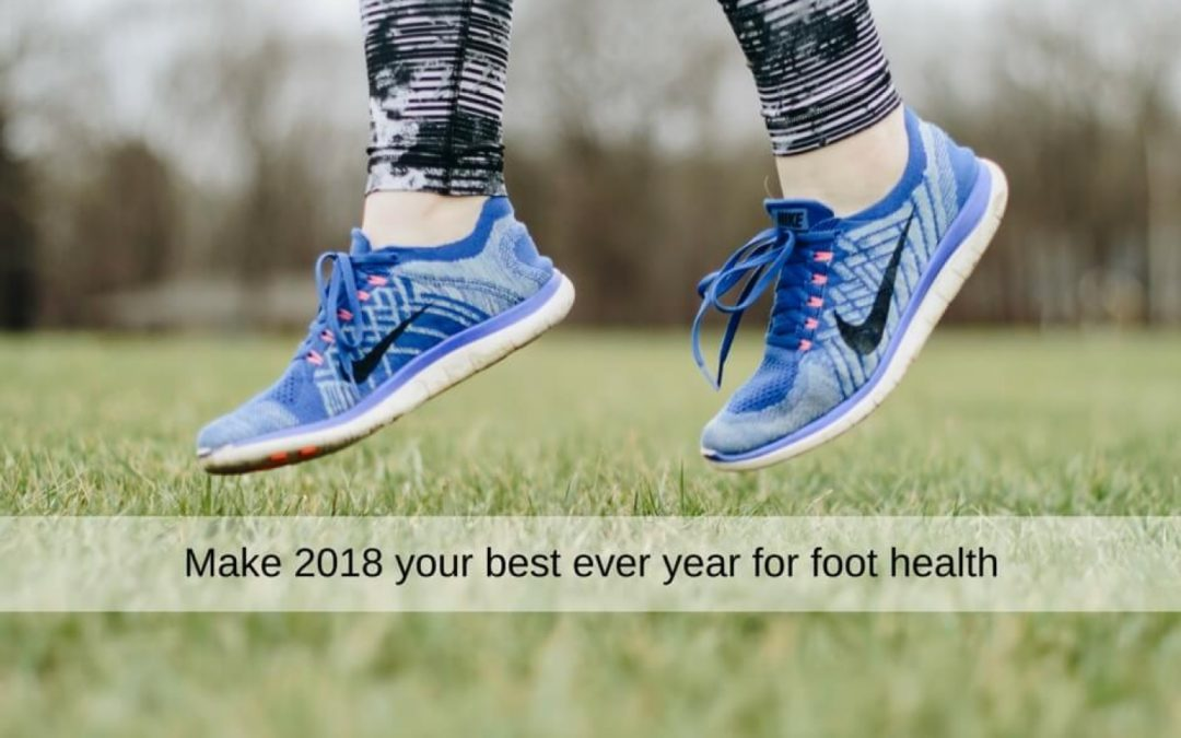 5 New Years Resolutions to Boost Your Foot Health
