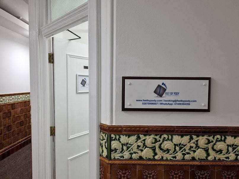 Clinic Door